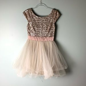 Trixxi sequin and tulle dress size 3